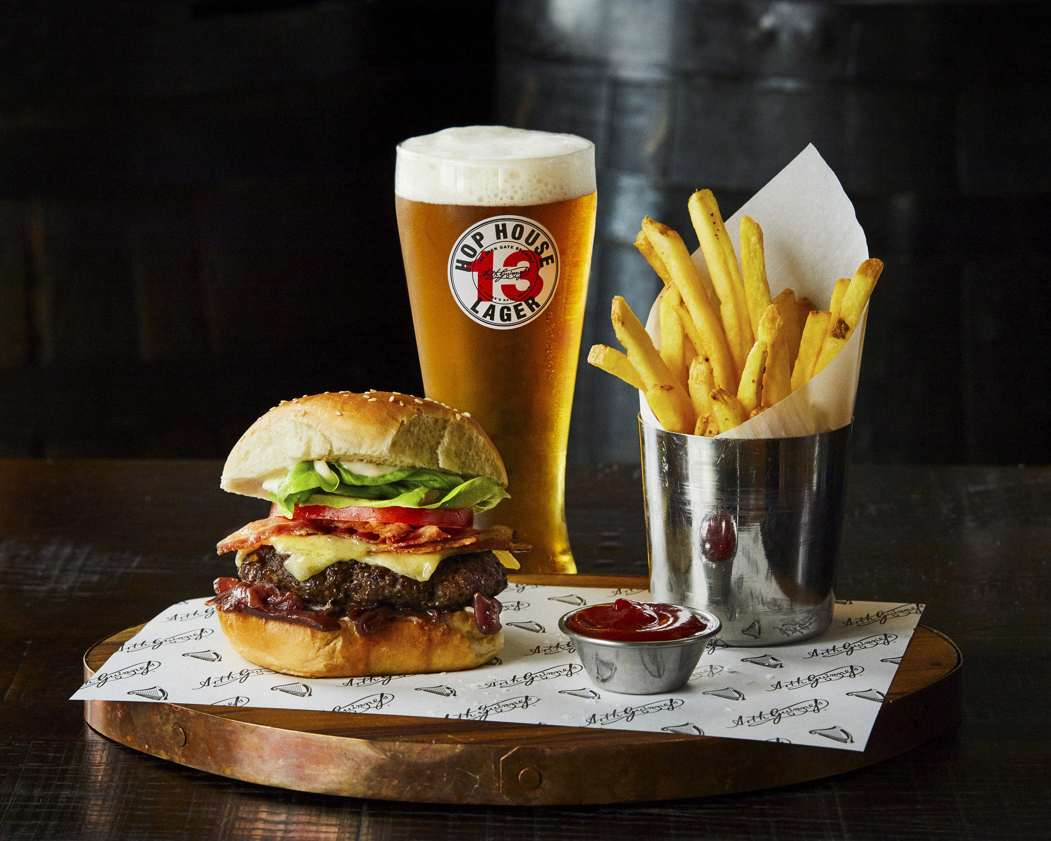 SteveRyan_Photographer_Food_Guinness_HopHouse13_Burger_155